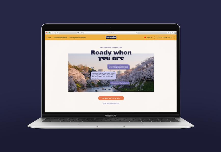 branding, financial technology, loans, travel loans, multi-media