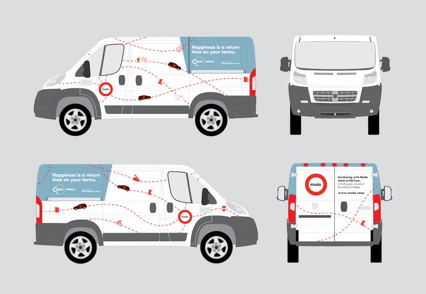 branding, identity design, carshare, open returns, communication design