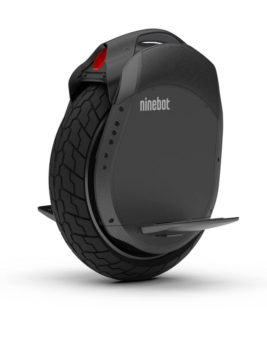 The Ninebot Z10 unicycle is powered by an electric motor and self balancing system