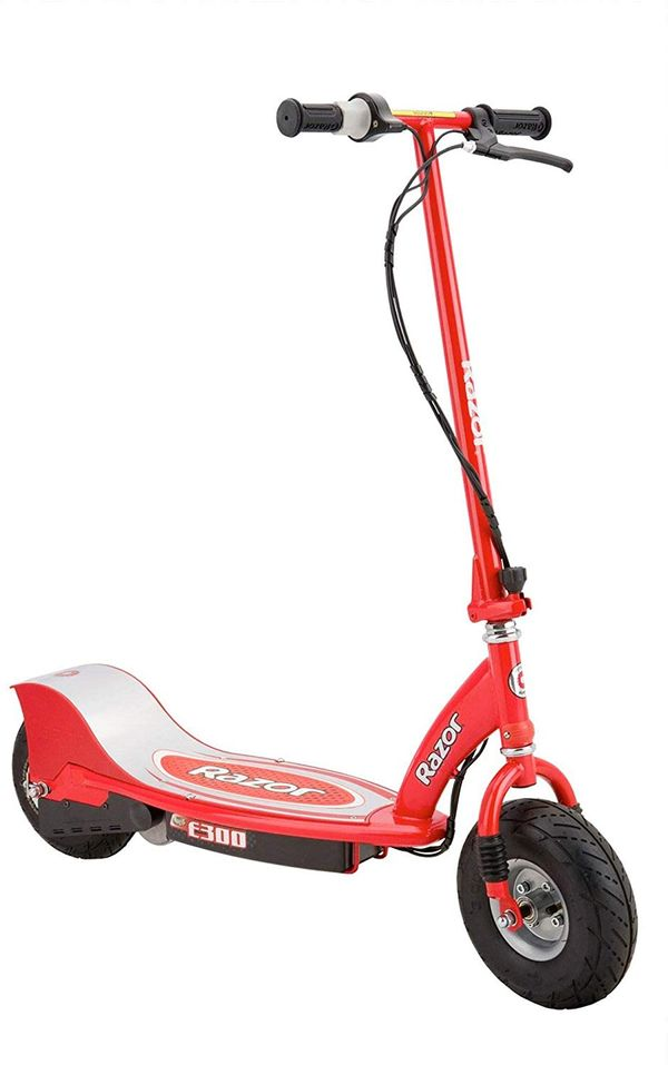 The Razor E300 was one of the more affordable scooters that we reviewed.