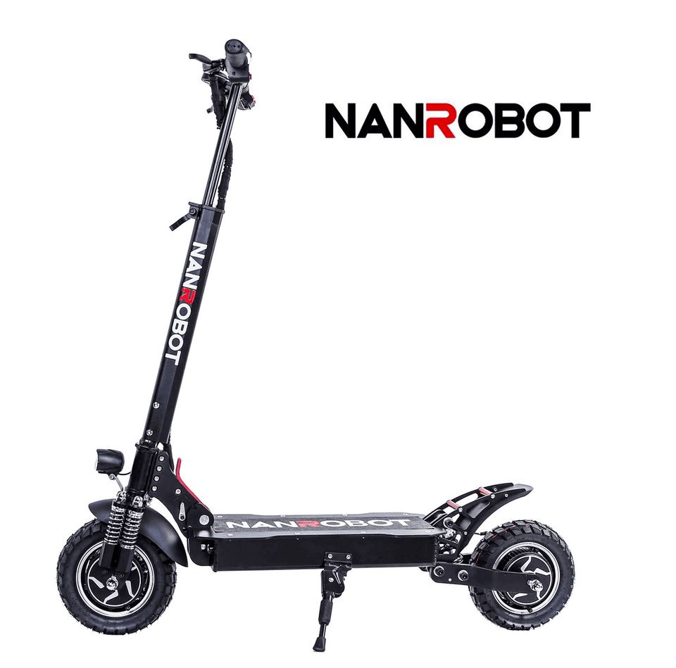 Nanrobot D4+ Electric scooter seen from the side