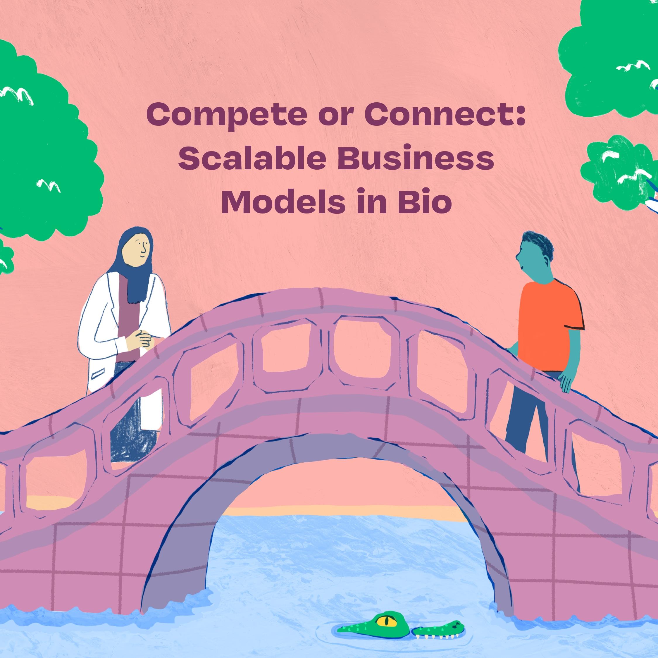 bridge connecting two people