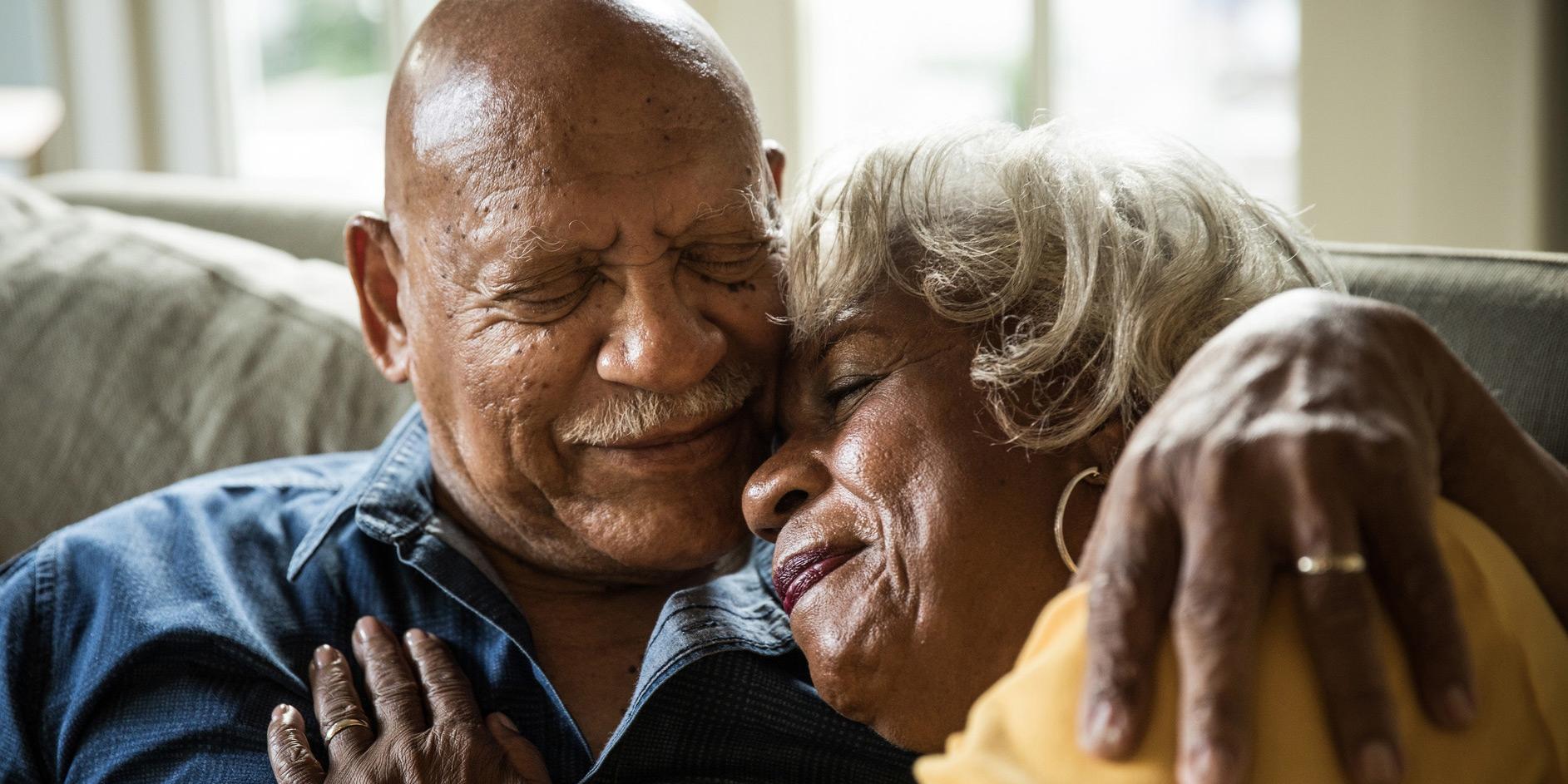 loved ones hugging