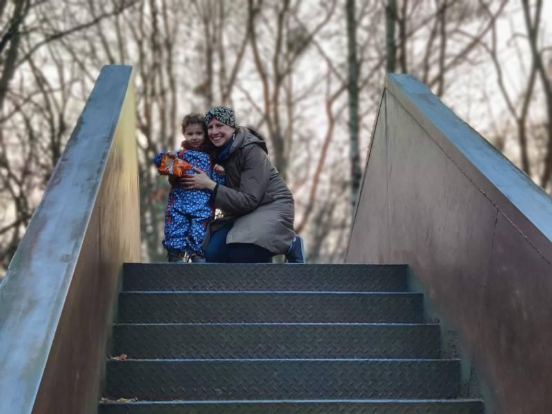 Robin and I at Schöneberger Südgelände