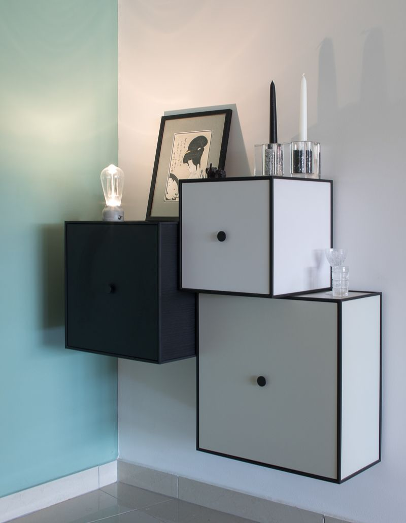 Entryway storage and styling