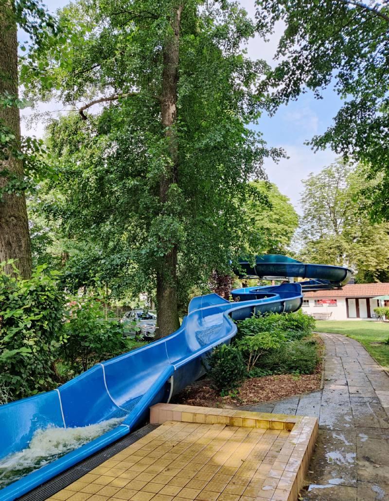 Water slide in Strandbad Neue Mühle