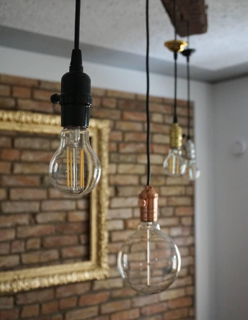 Living room lighting detail
