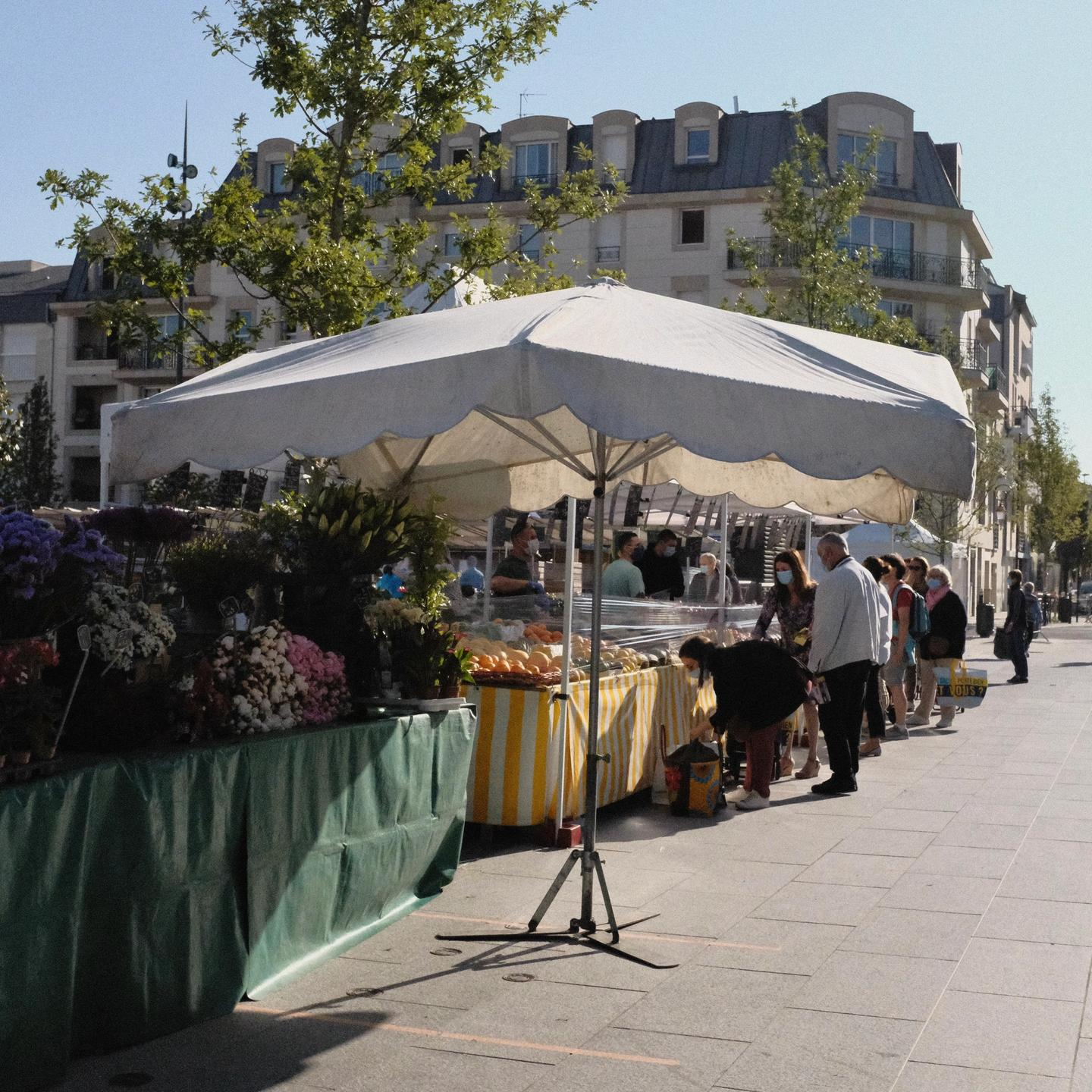 French traditional markets
