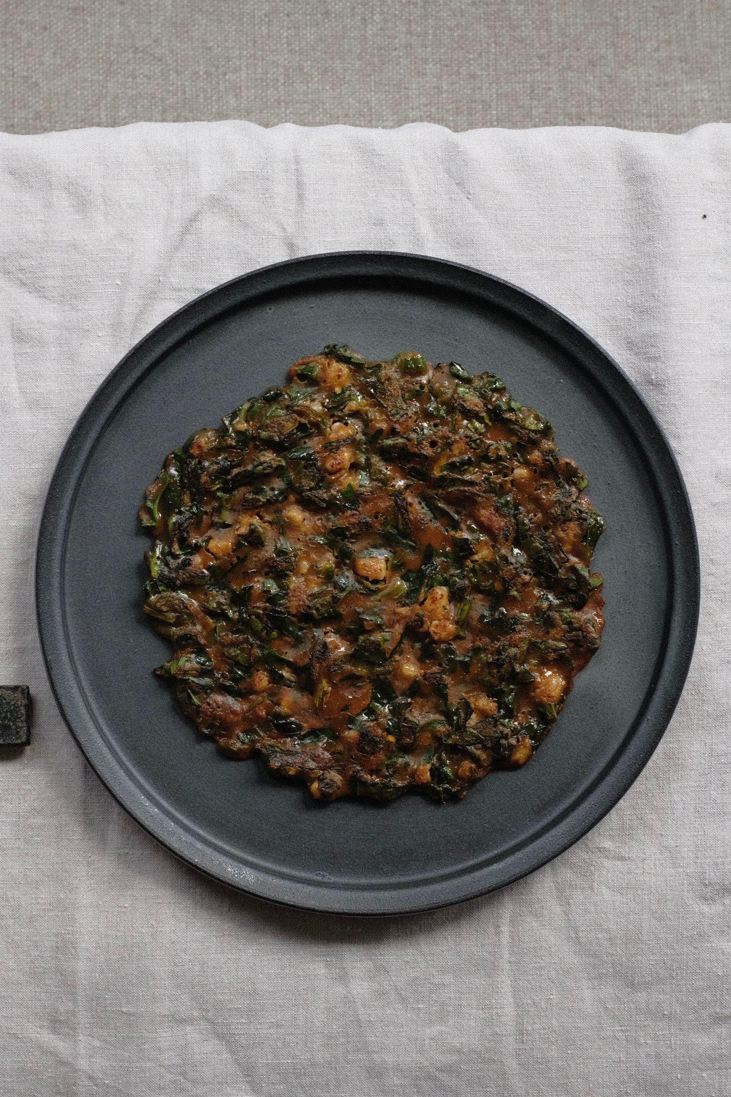 Spinach Pancak