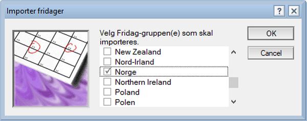 Norge i valglisten