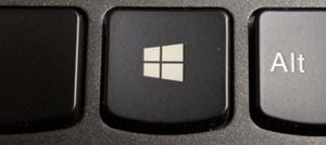 Windows-tast på tastaturet