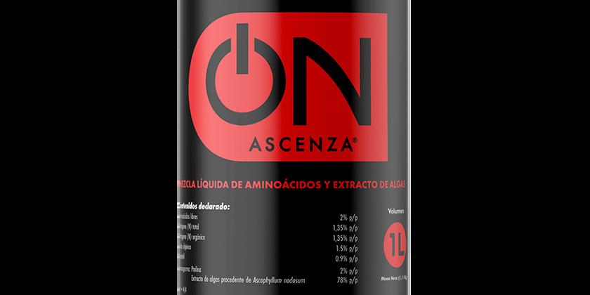 El Bioestimulante ON® ASCENZA Incrementa en 1,3 brix y un 33% la coloración de las bayas en uva de mesa