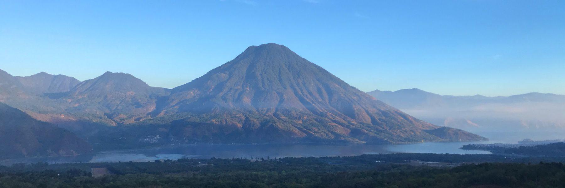 San Pedro Volcano, Lake Atitlán, Guatemala