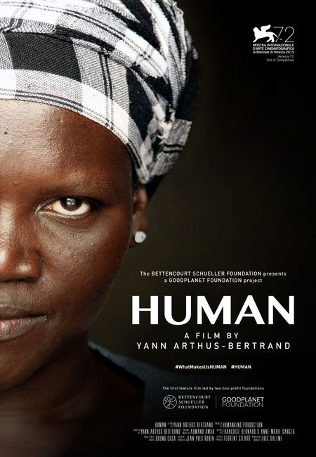 Poster for the documentary Human