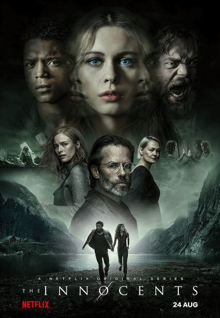 Poster from the drama/horror/mystery Netflix series The Innocents