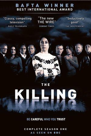 Poster for The Killing. Danish title: Forbrydelsen