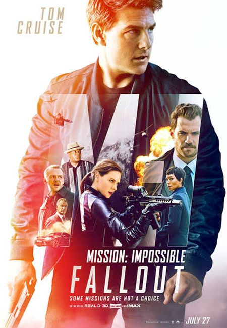 Poster for Mission Impossible 6 - Fallout