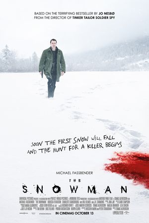 Poster for the movie The Snowman