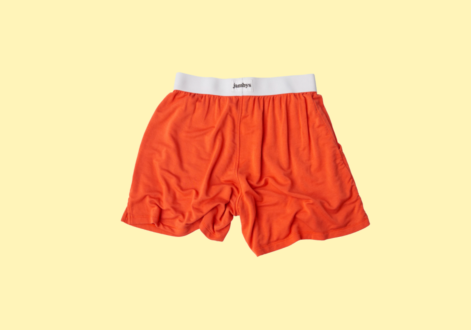 Orange Jambys on a yellow background