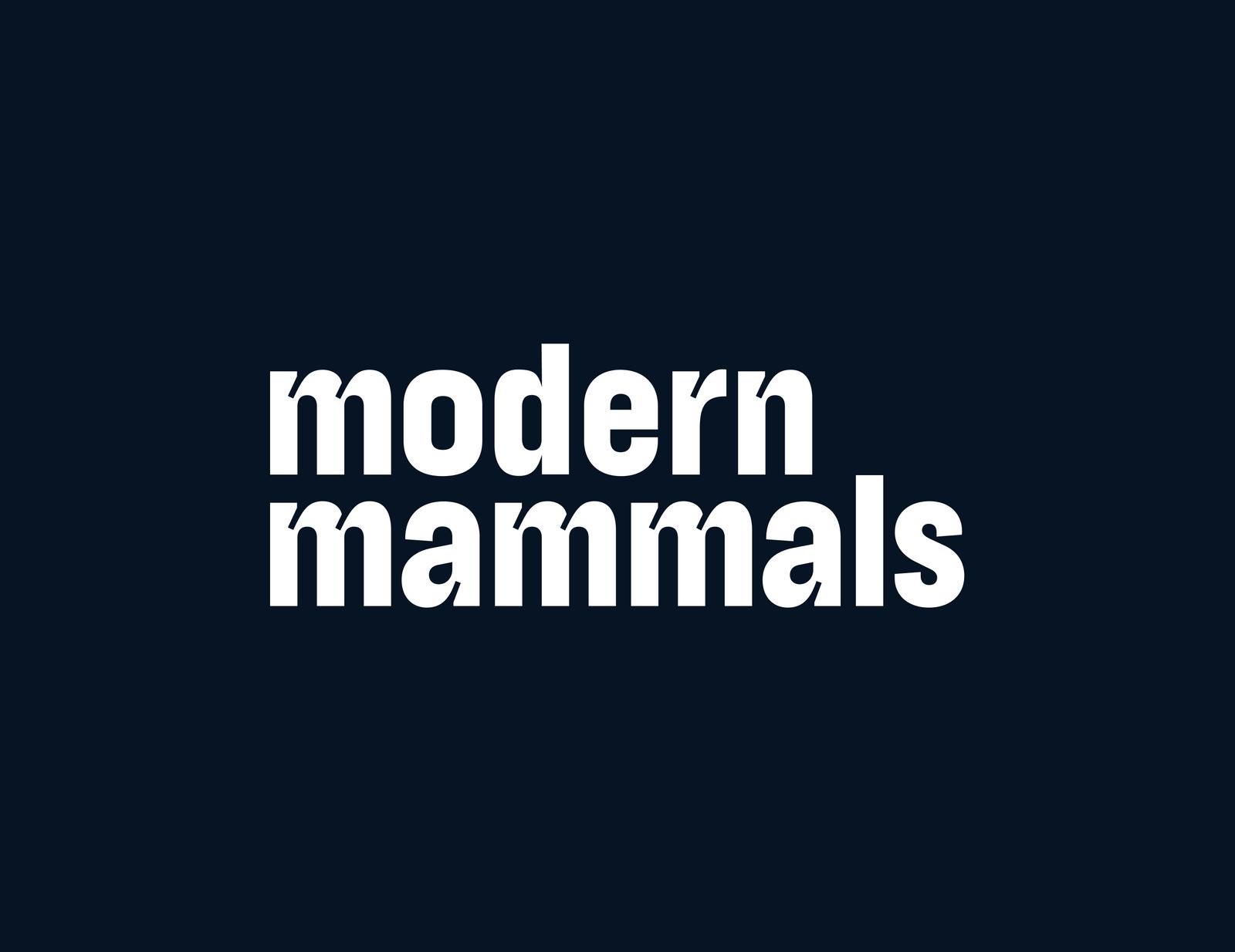 Rebranding Modern Mammals
