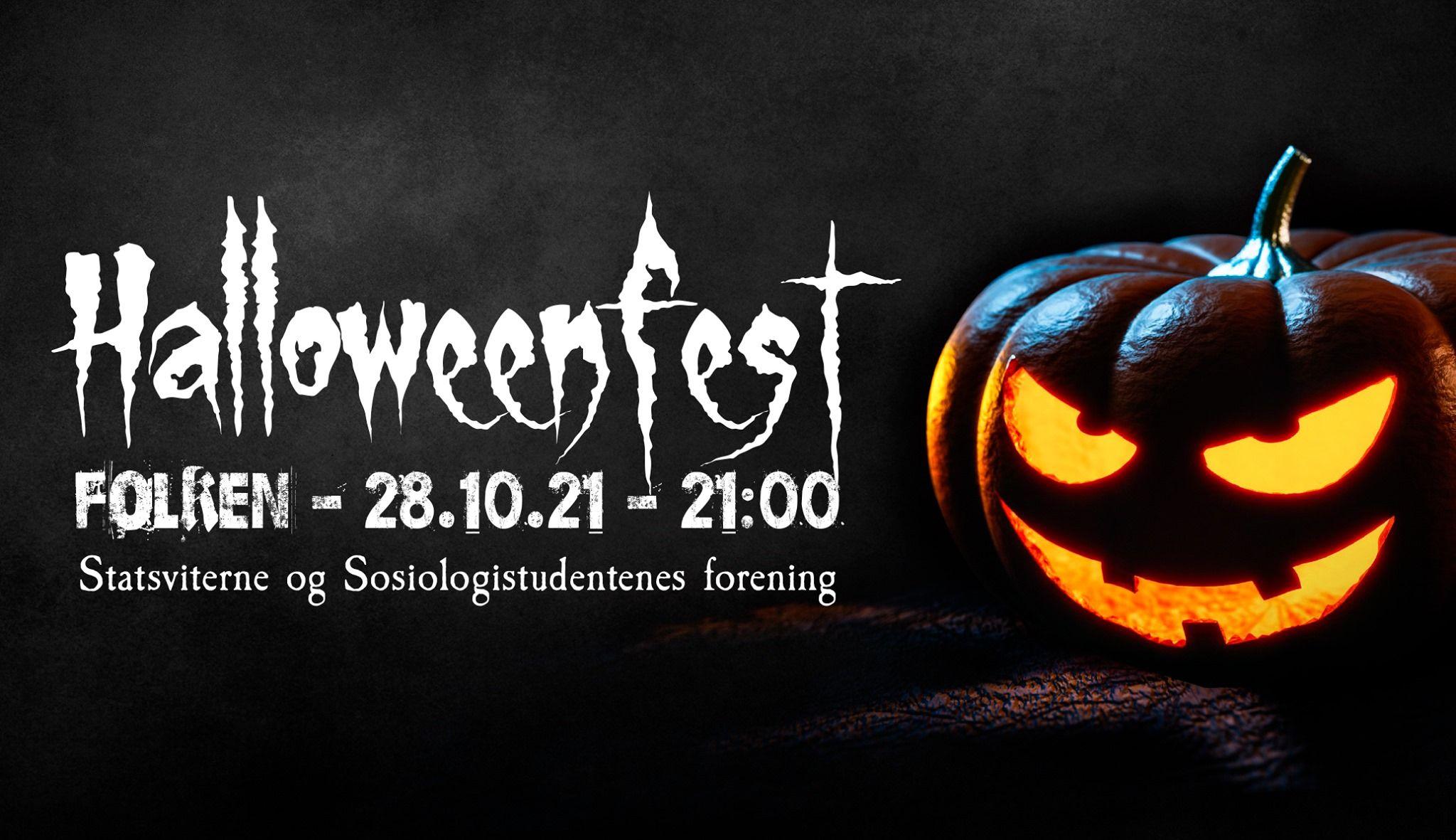Halloweenfest med SSF og Statsviterne