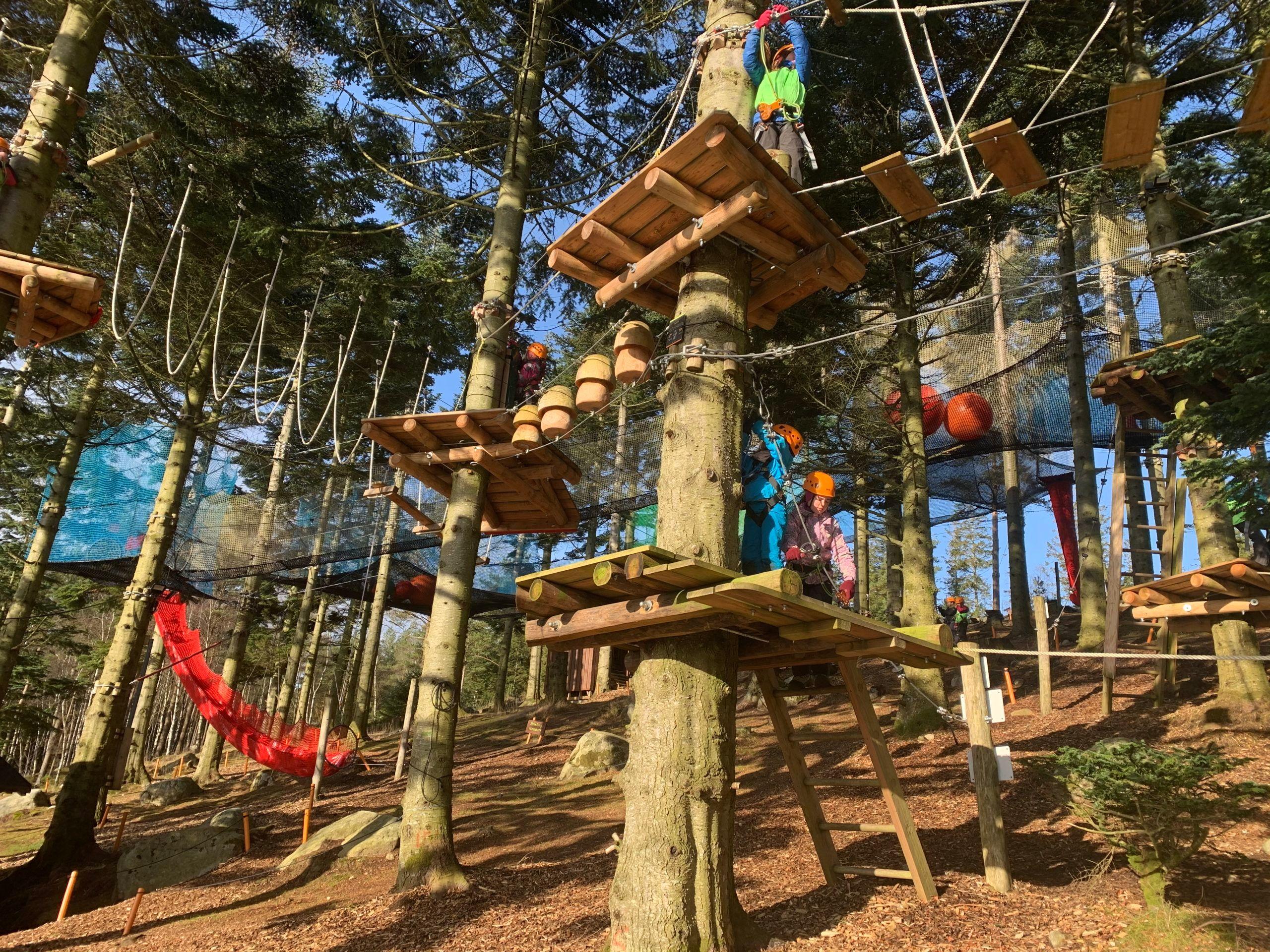 Søndagskos: Sandnes klatrepark