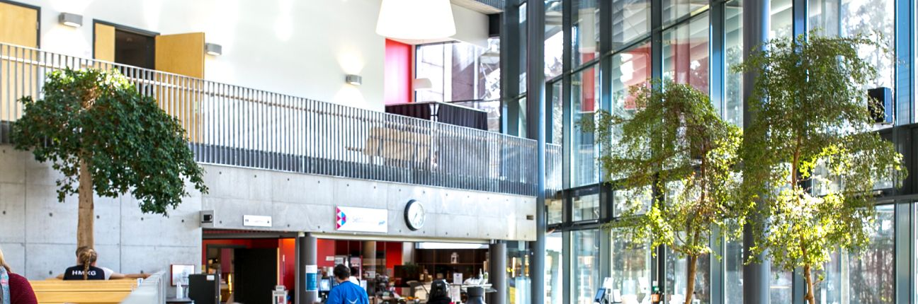 Kafé Sentralen på Campus Ullandhaug