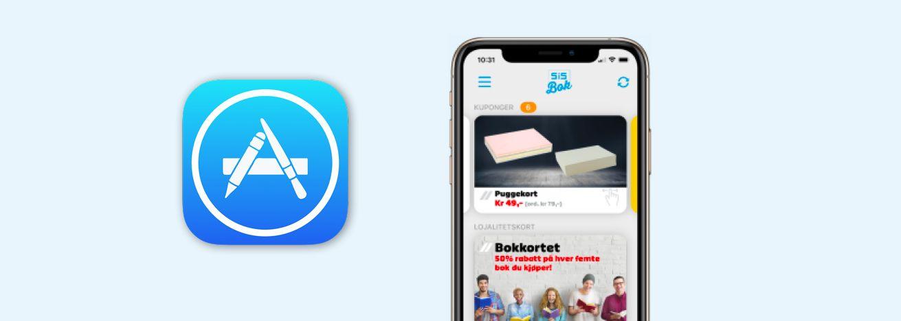 Akademika-appen for iOS