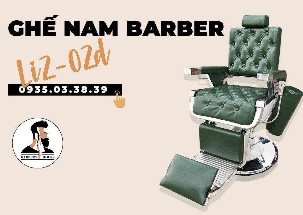ghế nam barber li2-02d