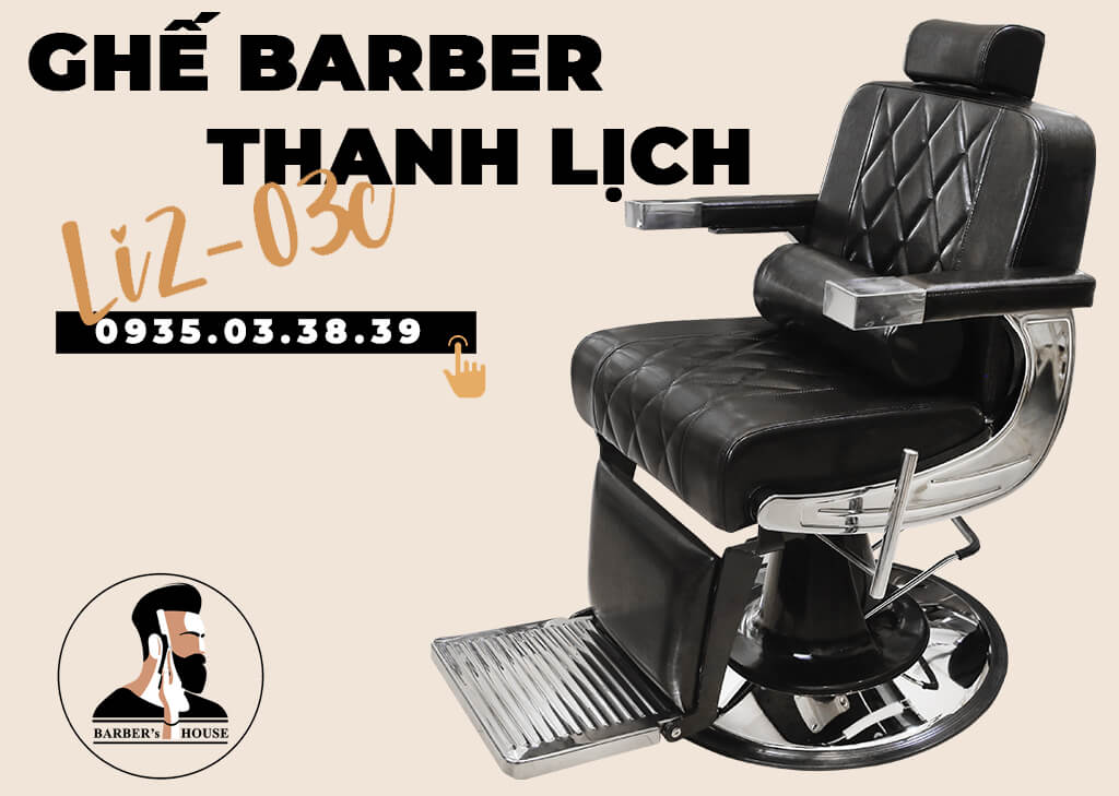 ghế barber thanh lịch