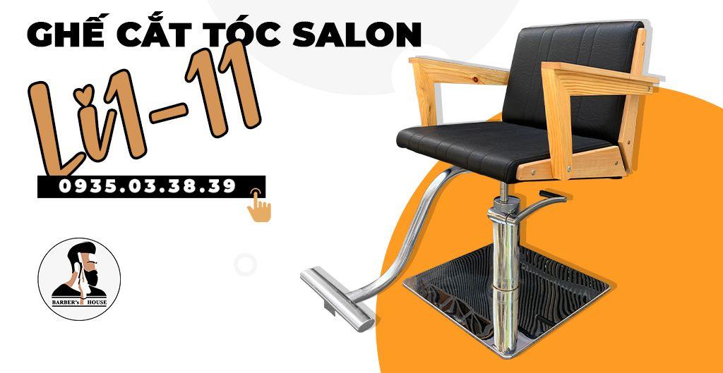 ghế cắt tóc salon li1-11 sang trọng - barber house