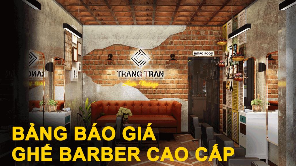 Để tiện cho việc nghiên cứu và đầu tư vào dự án barber shop của khách hàng, bài viết này nhằm nêu rõ về giá cả cũng như mô tả khái quát về sản phẩm của Barber house