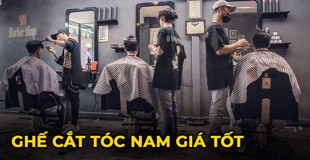 Lý do bạn nên lựa chọn mua ghế cắt tóc nam barber giá rẻ
