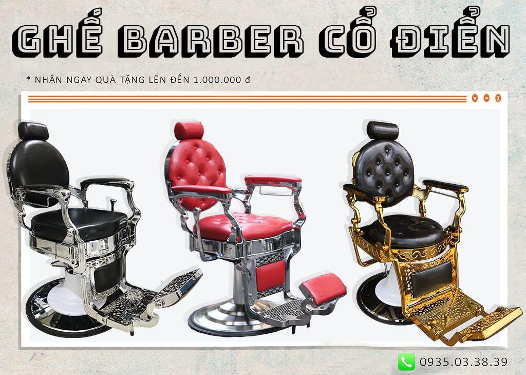 ghế barber cổ điển