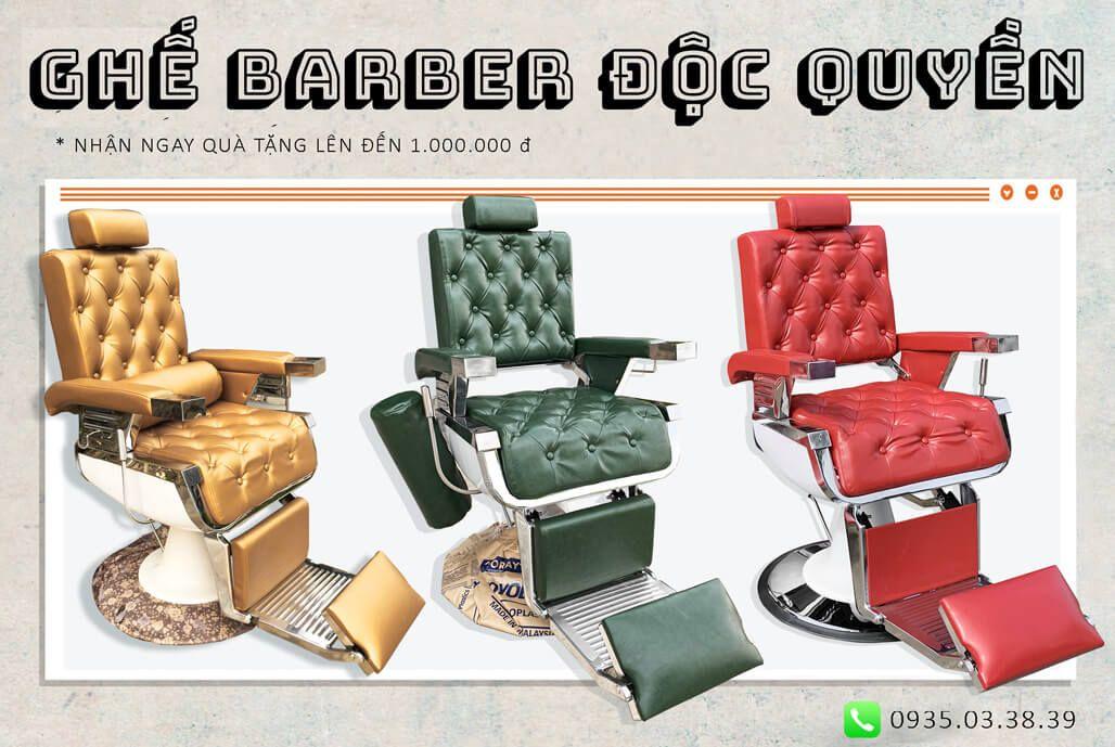 ghế barber độc quyền