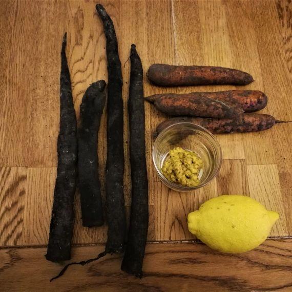 Zutaten Lauwarmer Schwarzwurzel-Rüebli-Salat