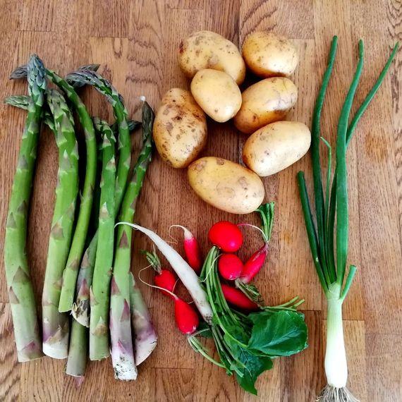 Zutaten Spargel-Kartoffel-Salat