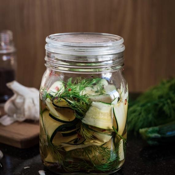 Pickled Zucchetti