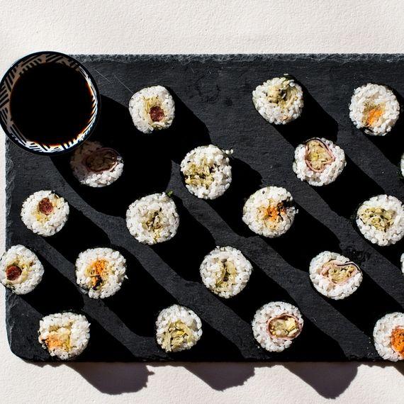 Sauerkraut-Sushi