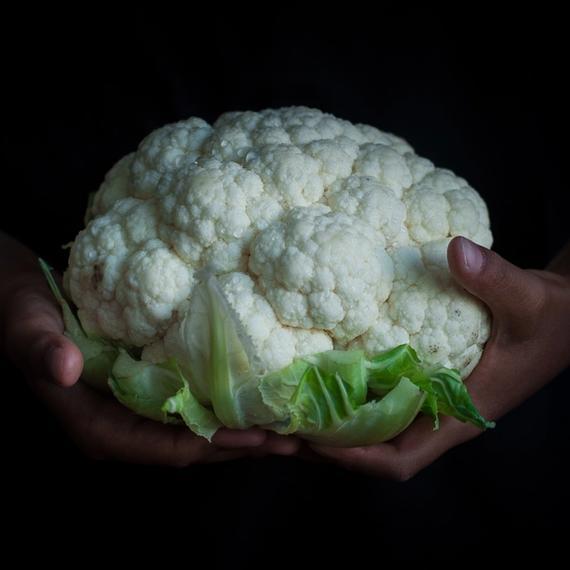 Zutaten Aloo Gobi (Indischer Blumenkohl mit Kartoffeln)