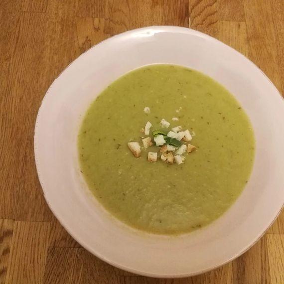 Lauch-Birnen-Suppe