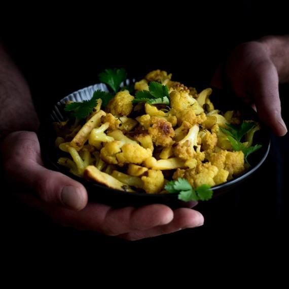 Aloo Gobi (Indischer Blumenkohl mit Kartoffeln)