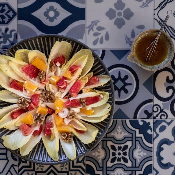 Zitrus-Chicorée-Salat