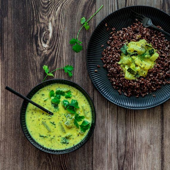 Kohlrabi und Zucchetti Curry