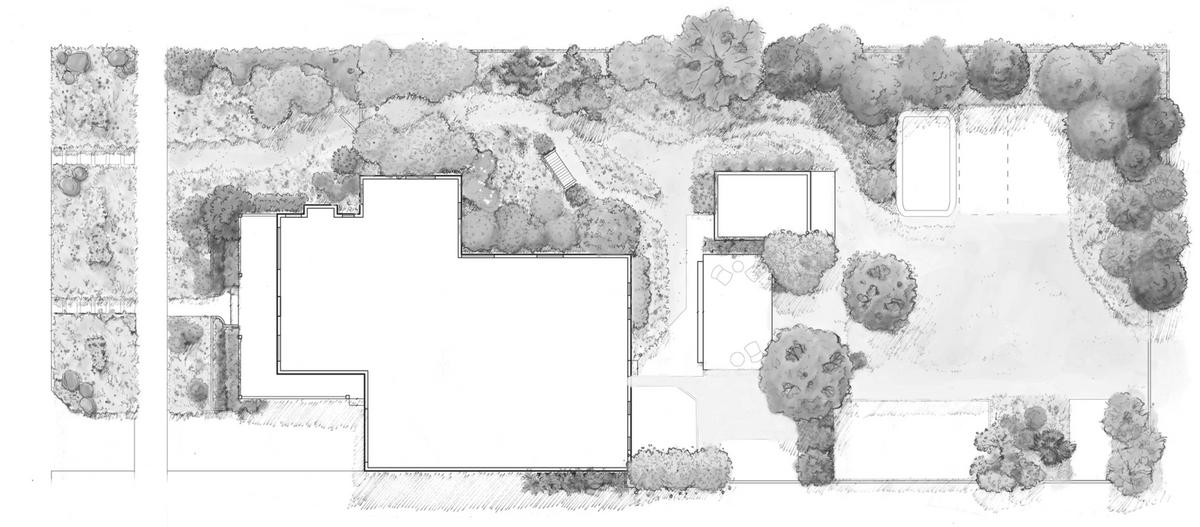 Image of a landscape plan