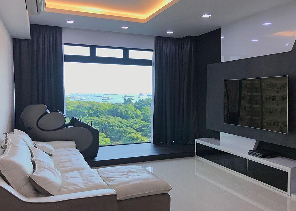 Condo Living Room Blackout Curtains