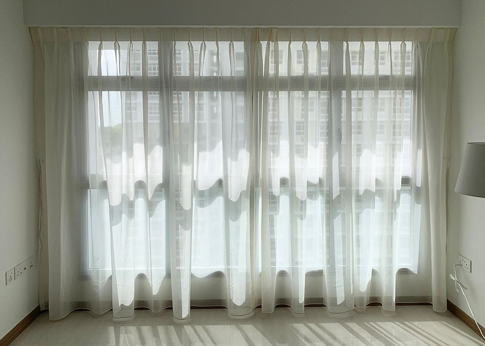 HDB Living Room Day Curtains