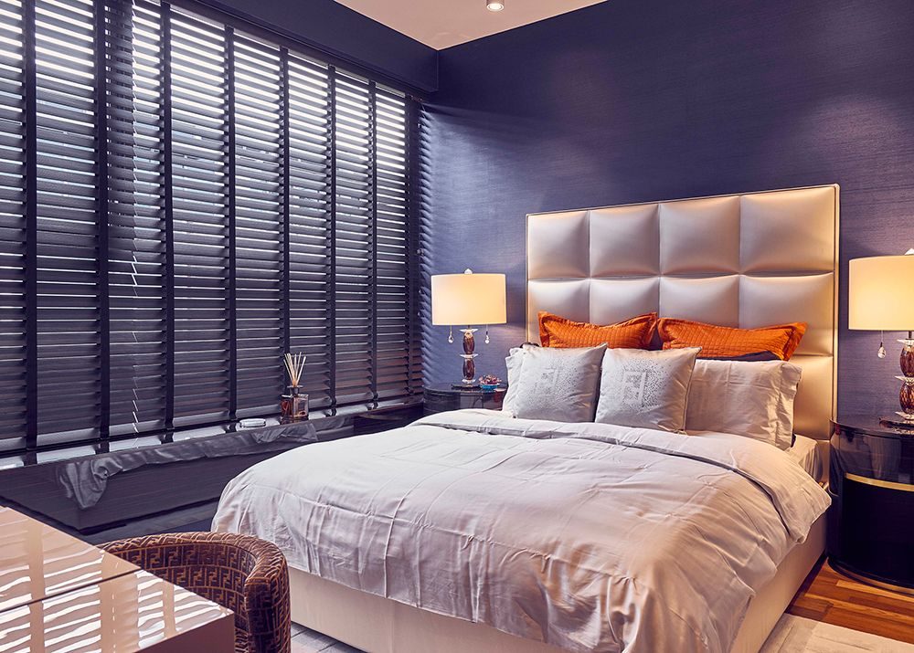 Condo Bedroom Venetian Blinds