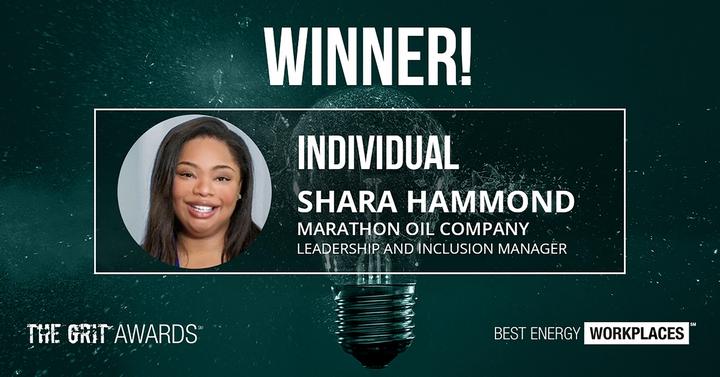 Shara Hammond named 2020 GRIT Award Winner