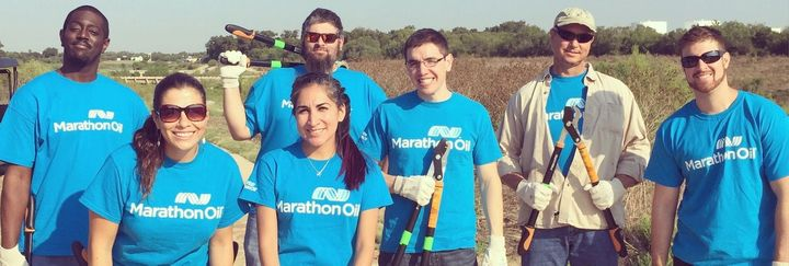 In San Antonio, Marathon Oil Helps Make the River Run Clean